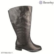 black big size lady thigh boots