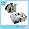 3 in 1 Baby Diaper Bag Bed Nappy Infant Carry Cot Portable Change Table Portacrib Boy Girl Best