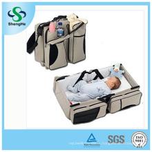 3 в 1 Детская подгузница для младенцев с подгузниками для младенцев Переносная кроватка для переноски Переносная таблица изменений Перчатка для мальчика Best