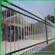 Nicht geschweißter verzinkter Zinkstahl Sicherheits-Leitplanke Zaun