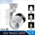 China Manufactur 25w 30w führte Schienen-Punktlicht CER-Beleuchtung geführtes Schienenlichtpunkt