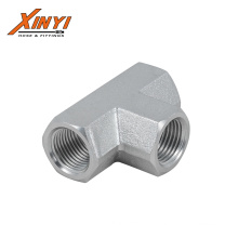 high quality NPT Female Tee Hydraulic Adapter