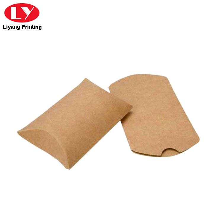 Pillow Box Kraft Paper