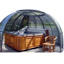 Retractable Patio Enclosure Prefabricated Wooden House