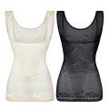 Body-Sculpting Underwear Vest Women's Plus Size Postpartum Belly Shaping Corset Top Chest Support