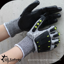 SRSAFETY cut level 5 anti-impact mechanic hand protection glove