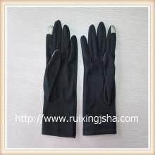 ladies'fleece прикосновение экран перчатки с подкладкой флис