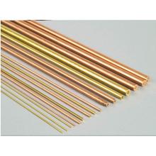 Application de tube électrique Electrode EDM Tube en laiton / électrode EDM Tube en cuivre