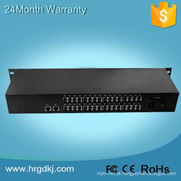 Conversor analógico de 32 canais para CCTV
