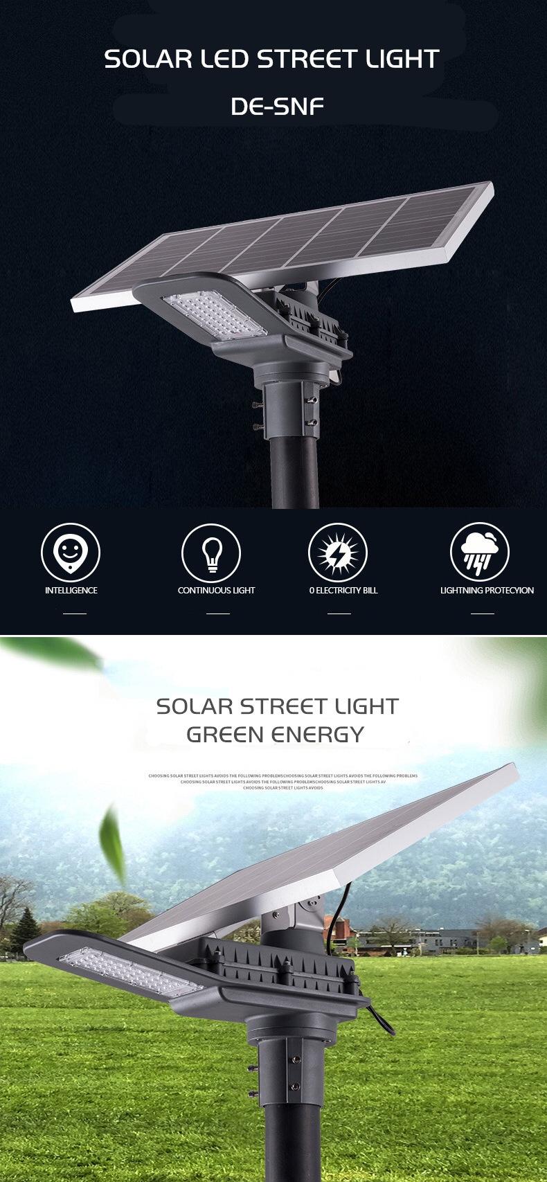 DE-SNF SOLAR LED STREET LIGHT DELIGHT ECO ENERGY