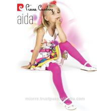Pierre Cardin Microfiber Cotton Kids Girl Tights Pantyhose Assorted Colors 40 Denier