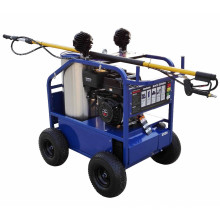 Gasoline hot water bridges and road marking made in china high pressure washer