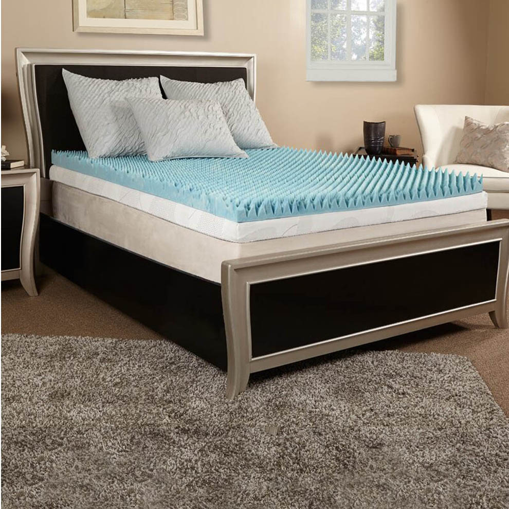 Twin Egg Crate Mattress Topper