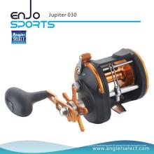 Angler Select Jupiter Starker Graphit 3 + 1 Lager Seefischerei Trolling Bootsrolle Angelgerät (Jupiter 030)