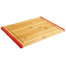 Bamboo Chopping Block with Silicone Edge