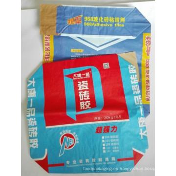 Bolso de papel personalizado del cemento de Kraft
