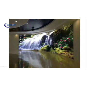 High definition indoor curved LED Video Wall