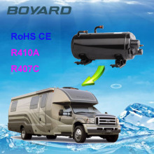 Dachmontierter Klimakompressor für rv mit waagerechten a / c kompressor