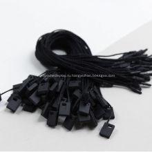 Черные пустые флажки для одежды, сумки для одежды