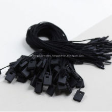 Black Blank small tags for clothing dress bags