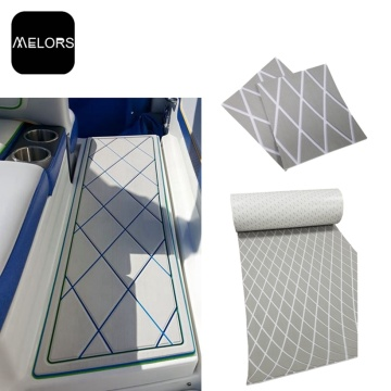 Non-selip Diamond Faux Jati Marine Eva Foam Sheet