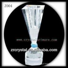 Suporte de vela de cristal popular Z004