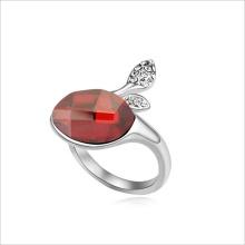 VAGULA usine chinoise conception d'OEM Rhodium bague de mariage diamant de placage