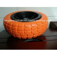 3.00-4PU Form Wheel with Fe Rim Hot Sell to MID East
