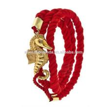 Wholesale china manufacturers 2015 fashionable nylon with dragon bracelet jewelry