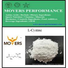 Acides aminés de vente chaude L-Cystine de haute qualité