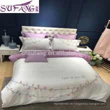 ODM Niedriger Preis für Pflegeheime 100% Baumwolle Bettwäsche-Sets Luxus