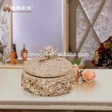 Украшения дома оптовая продажа высокое качество роскошные ювелирные изделия коробка шкатулка декоративная полезным
