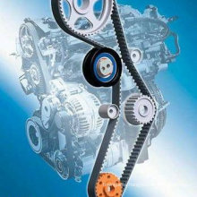Timing Belt, Auto Timing Belt with ISO