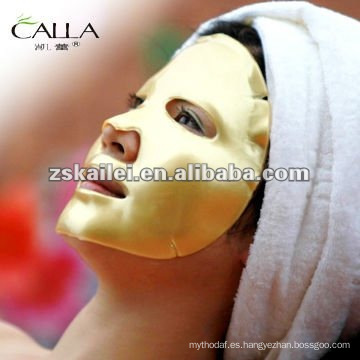 SGS probó la máscara facial antiarrugas Nano Gold Crystal 24K Gold Facial Mask