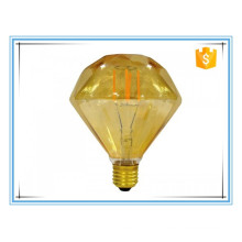 Special decorative 4W E27 230V Diamond LED filament lamp with gas-filled bulb