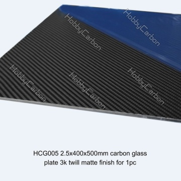 Creative Silicon Carbon gehard glas bouwplaat