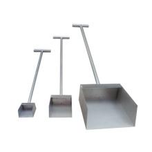 Precio de fábrica de alta calidad pala de muestreo de acero inoxidable