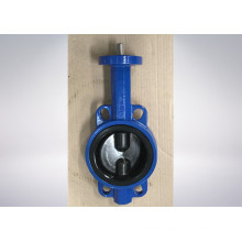 Resilient Seated Fully Rubber Coated Lining Butterfly Valve