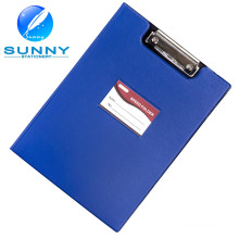 A4 Size PU/Leather Cover Clipboard with Flat Clip