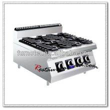 K457 Counter Top mit 4 Brenner kommerziellen Gaskocher
