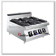 K457 Counter Top With 4 Burners Commercial Gas Cooker