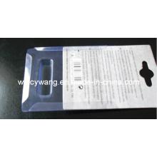 Складывающаяся прозрачная блистерная упаковка с картоном (HL-160)