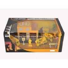 Die Cast Metal Car Play Set Toy-F/W Engineering Set