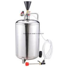 Máquina do uso da água dois da cera do aço inoxidável da espuma do tambor