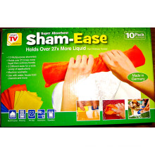 Absorber l'ensemble de tissu de chiffon de nettoyage polyvalent chamois 10