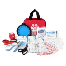 78 Pieces Complete Accessories Pet Care Medical Pouch
