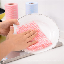 Direct Supplier 13 Mesh Spunlace Nonwoven Fabric for Kitchen Clean