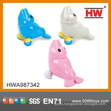 New Design Colorful 12CM B/O Dolphin Toy With Musical 6PCS/ BOX