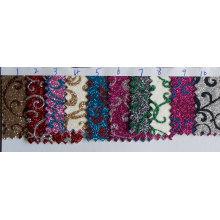 Decorative Knitted Glitter Wallpaper Fabric
