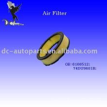 Elemento de filtro de ar para Ford OE: 6166512
